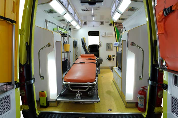 Ambulance Disinfection and Decontamination